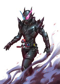 Build DxD ¡Raising the Hazard Level! Kamen Rider Decade, Kamen Rider Series, Dragon Knight, Knight Art, Character Art, Character Design, Gundam Art, Custom Gundam, Meme Pictures