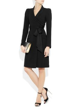 Paloma satin trimmed crepe dress from Temperley London.