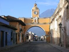 Antigua Guatemala. I wish I was there right now.