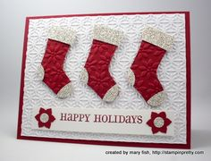 Click photo to enlarge and view product recipe!: Glamazing Stocking