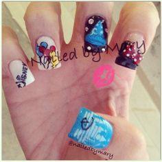 Walt Disney nails.