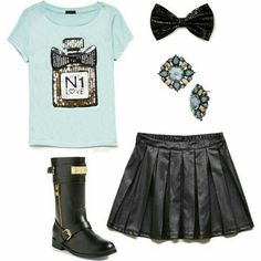 JoJo)) My outfit!! I have Math First!