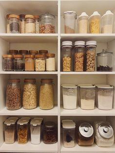 Pantry Organization + Grocery Planning.