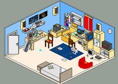 A room after a hard party 4 by karlneil.deviantart.com on @deviantART