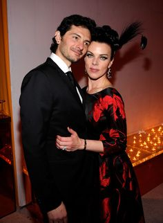 Debi Mazar and Gabriele Corcos Photo - 18th Annual Elton John AIDS Foundation Academy Award Party - Inside