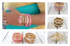 GroopDealz | Bangle Set - 5 Must Have Colors
