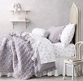 Frayed Ruffle & Stamped Butterfly Bedding Collection