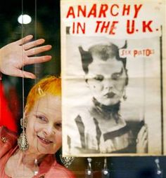 Anarchy in the UK... Vivienne Westwood