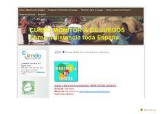 Curso monitor de juegos by Animacion, Servicios Educativos y Tiempo Libre, via Slideshare