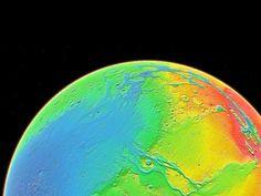NASA - Topography of Mars