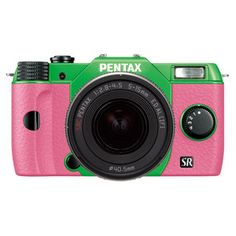 I want a new pretty camera! @Fab | Pentax Colorful, Compact Hybrid Cameras #pretty!