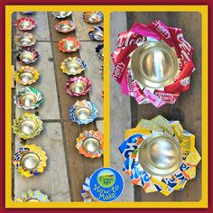 How to Make Tin Can Flowers. An upcycled craft from Coombe Mill
