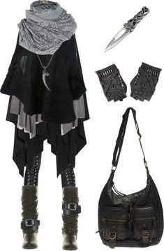 Murky lifestyle: dark mori, city witch, vampire