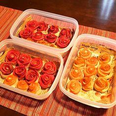 32個は大変だった! - 53件のもぐもぐ - 赤ワインで煮込んだRed Roseを加えたデリバリー・アップルパイ by Masashi Minami