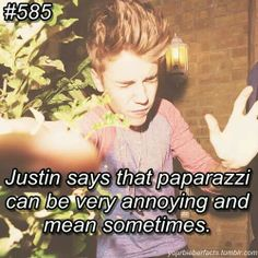 More like all the time #Bieberfacts