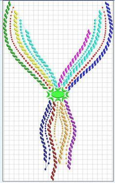 البترونات Hand Embroidery Designs, Embroidery Patterns, Cross Stitch Patterns, Col Crochet, Henna Tutorial, Pattern Art, Neck Pattern, Bordado Floral, Rangoli Designs