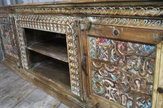 Exquisitely Carved Console