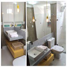 banheiro cimento queimado colorido - Pesquisa Google