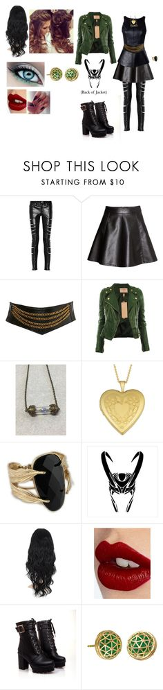 """Liliana, Rotten to the Core"" by locksley-cxli ❤ liked on Polyvore featuring Yves Saint Laurent, H&M, Nicholas, Miss Selfridge, Fremada, Retrò, Charlotte Tilbury, Shoes Galore and Roule & Company"