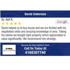 David helped us to buy house and we are thrilled with his negotiation skills and amazing...