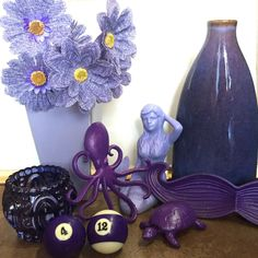 Purple Love. #theclutterhouse #localaz #homedecor #purple