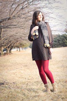snappy casual-maternity fashion inspiration