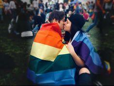 #lesbian #couple #couplegoals #lesbiancouple #lgbt #kissing #kiss #photography #gay #lesbians #inlove #love #happy #coupletattoo  #pride