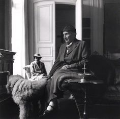 Gertrude and Alice, (Alice B. Toklas; Gertrude Stein) Photographed by Cecil Beaton, (Bromide Print)1936.