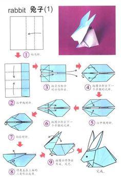 explication origami lapin