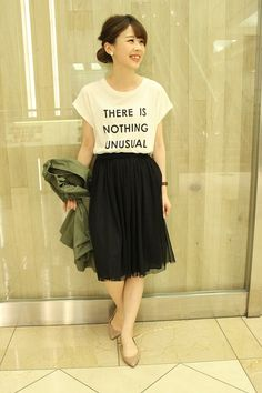 tulle skirt (Spick and Span Noble)