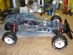Kyosho Optima Restoration in Progress