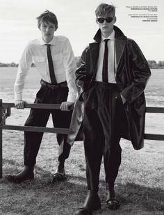 'The outsiders', editorial por Benjamin Alexander Huseby para VMAN Magazine Fall 2015 - Male Fashion Trends
