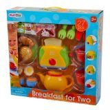 Playgo 3715 - Spiel-Set Frühstück für Zwei 27 Teile Drama Games, Kids
