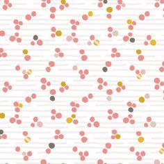 tissu cloud9 aubade dew pearled pink