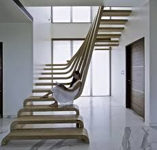 Image result for curved architecture staircase