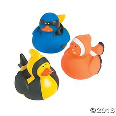 Fish Rubber Duckies