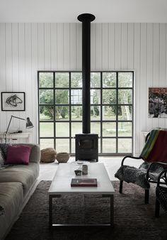 Villa AK, Hamra, Gotland – M.Arkitektur Forest Cottage, Sweden House, Small Balcony Design, Haus Am See, Summer Cabins, Interior Styling, Interior Design, Sweet Home, Farmhouse Design