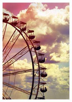 un tour de manège dans nos vies, pour voir si le voyage vaut le coup.
