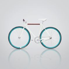 Fixed gear bike Fixed II by mark daavid, via Behance Via http://thedsgnblog.com/