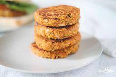 Juicy Smoked Chickpea Burger (vegan with gluten free options)