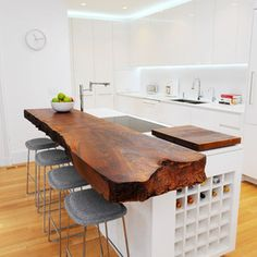 contemporary kitchen by SF Architecture