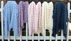 WIN! The Funky Monkey Giveaway: Adorable Ruffle Blanket - Ends 3/16/13
