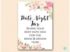BS546-sign-date-night-jar-tribe-boho-floral-bridal-shower-sign
