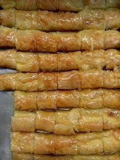 Greek Sweets, Greek Desserts, Greek Recipes, Fun Desserts, Cookbook Recipes, Sweets Recipes, Cooking Recipes, Healthy Recipes, Cyprus Food