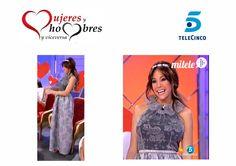 En el #programa especial #SanValentin de #myhyv @patricia_steisy guapisima con vestido de @arq_llorens