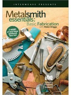 Fabricación Metalsmith Productos de primera necesidad estafa Helen Driggs DVD | InterweaveStore.com