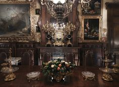 Museo Cerralbo. Comedor de Gala