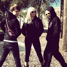 Ross Lynch, Rydel Lynch And Ellington Ratliff Wearing New R5 Hoodies:-) I just notice ratliff has like no ass just putting that out there lol still love yoou hehe