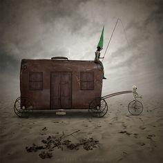 Forgotten wanderers by Leszek Bujnowski on Fotoblur | Digital Manipulation Photography