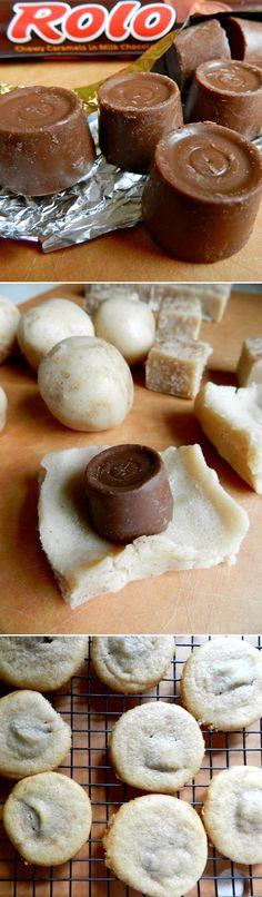 Rolo Stuffed Cookies - DIY Ideas 4 Home